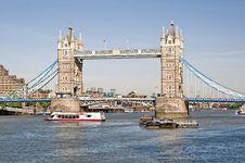 Free Tower Bridge Royalty Free Stock Image - 16071716