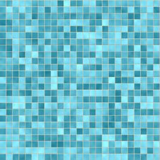 Free Abstract: Vector Brick Tiles Blue Stock Image - 16071911