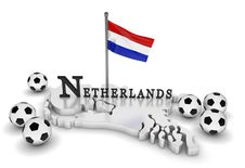 Free Netherlands Soccer Tribute Royalty Free Stock Image - 16071926