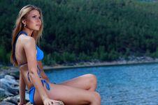Free Bikini Woman Stock Image - 16071931