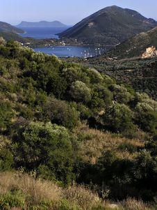 Free Greek Island Bay Stock Images - 16072694
