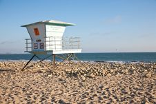 Free Lifeguard Station Stock Images - 16073334