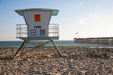 Free Lifeguard Station Stock Photos - 16073343