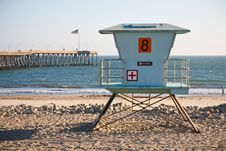 Free Lifeguard Station Stock Photography - 16073362
