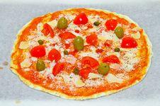 Free Homemade Pizza Royalty Free Stock Photo - 16073785