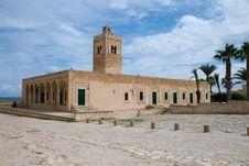 Mosque Of Ribat In Monastir, Tunisia Stock Images