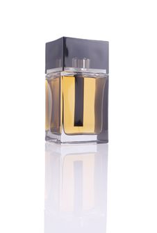 Free Perfume Bottle (with Clipping Path) Royalty Free Stock Photography - 16074467