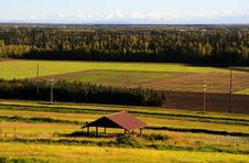 Free View Of Alaska Range In The Fall Stock Photo - 16074520