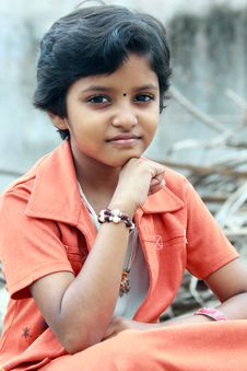 Indian Teenage Girl Royalty Free Stock Image