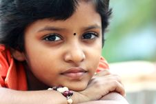 Free Portrait Of Indian Teenage Girl Royalty Free Stock Images - 16074689