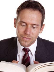 Free Man Reading Stock Photos - 16075143