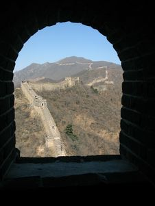 Free The Great Wall Of China At Mutianyu, Beijing, Chin Royalty Free Stock Photography - 16075237