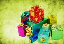 Free Gifts Stock Photography - 16075812