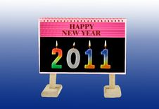 Free Welcome New Year Stock Photos - 16075833