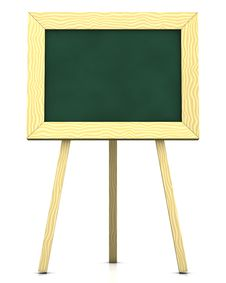 Free Blank Blackboard Royalty Free Stock Photography - 16076217