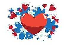 Free Love Around Us. Stock Photo - 16076250