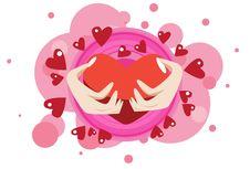 Free The Heart Hug Royalty Free Stock Photo - 16076255
