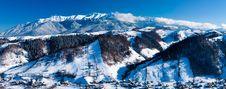 Free Bucegi Mountains Panorama Royalty Free Stock Photography - 16076267