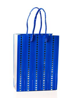 Free Blue Bag Stock Photography - 16076522