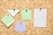 Free Color Sticky Notes Royalty Free Stock Photo - 16076935