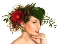 Free Beauty On White Stock Image - 16076941