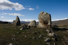 Free Karahunj In Armenian Mountains Royalty Free Stock Images - 16077019
