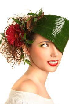 Free Beauty On White Royalty Free Stock Photos - 16077048