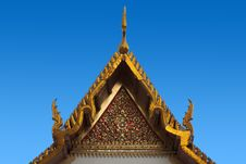 Free Thai Architecture And Art In Bangkok, Thailand Stock Photo - 16077050