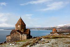 Sevanavank Monastery Royalty Free Stock Photo