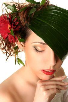 Free Beauty On White Stock Photos - 16077123