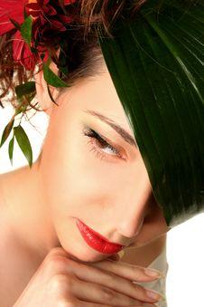 Free Beauty On White Stock Photos - 16077133