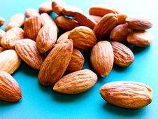 Free Almonds. Stock Photos - 16077193