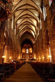 Free Church Interior Royalty Free Stock Photos - 16077398