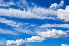 Free Cumulus Clouds In Blue Sky Stock Photography - 16078132
