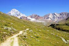 Free Mountain Path Stock Photography - 16078362