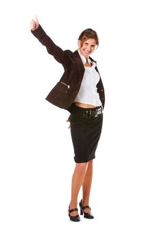 Free Young Attractive Businesswoman Royalty Free Stock Photo - 16079155