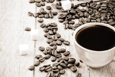 Free Cup Of Coffee Stock Images - 16079314