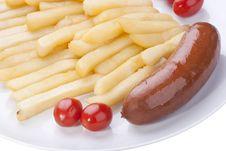 Free Fried Potato Royalty Free Stock Photos - 16079718