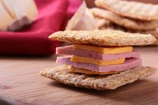 Free Wheat Crackers Stock Image - 16079911