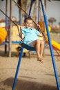 Free Girl Swinging Stock Image - 16088211