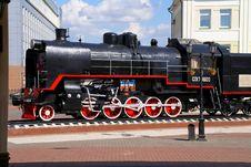 Free Steam Locomotive Stock Image - 16080741