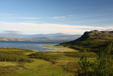 View Over A Norwegian Fjord Royalty Free Stock Image