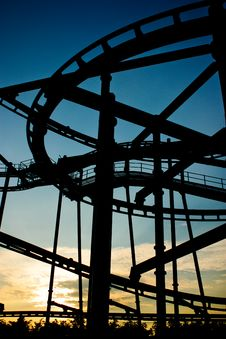 Free Roller Coaster Royalty Free Stock Images - 16081119