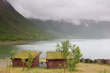View Over A Norwegian Fjord Stock Photography
