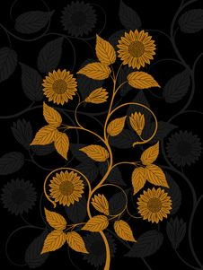 Free Floral Pattern Royalty Free Stock Photography - 16081457