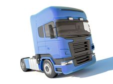 Free Truck Blue Cab Stock Photography - 16081542