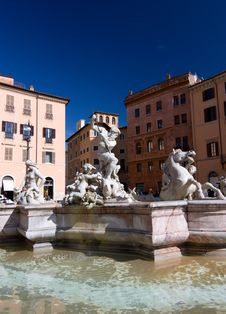 Free Navona Square In Rome Royalty Free Stock Images - 16081669
