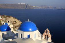 Free Oia, City In Greece Island Santorini Royalty Free Stock Photos - 16081718