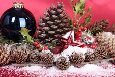 Free Christmas Decorations Closeup Stock Image - 16081721