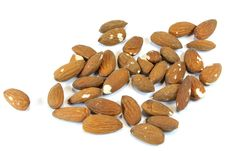 Free Almonds Stock Photography - 16081792